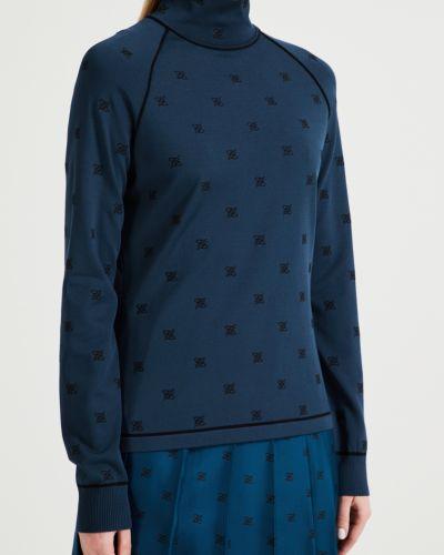 Водолазка с воротником-стойка с рукавом реглан Fendi