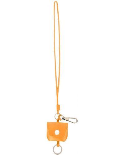 Żółty etui na klucze z prawdziwej skóry 3.1 Phillip Lim