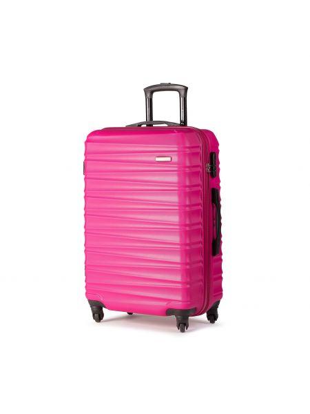 Różowa walizka średnia Wittchen