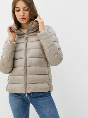 Утепленная куртка - серая Save The Duck