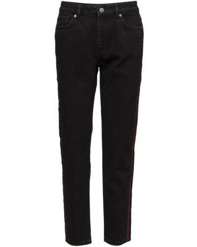 Mom jeans - czarne Minimum