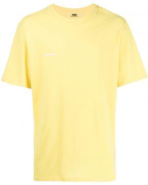 Желтая футболка Wwwm