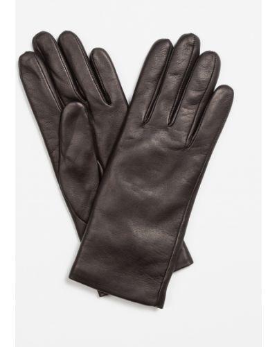 Кожаные перчатки Vassa&co
