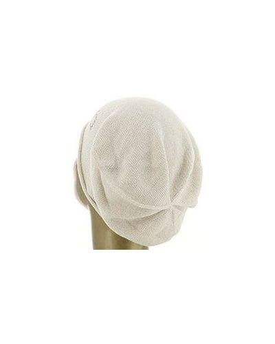 Бежевая шапка из вискозы Liu Jo