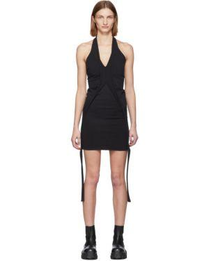 Платье мини вязаное стрейч Rick Owens