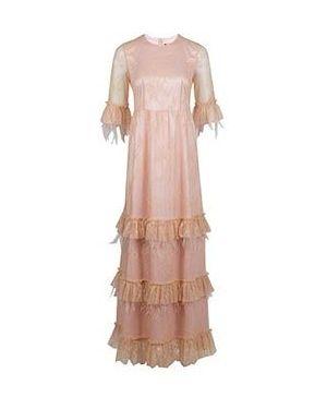 Вечернее платье розовое Via Torriani 88