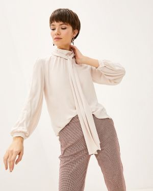 Блузка с длинным рукавом бежевый Blugirl Folies