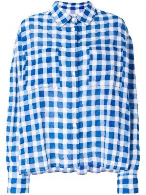 Рубашка оверсайз - синяя Natasha Zinko