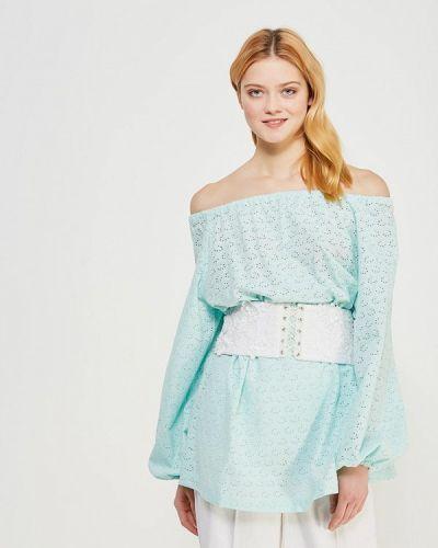 Блузка бирюзовая Anastasya Barsukova