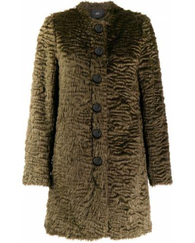 Длинное пальто с капюшоном на пуговицах Steffen Schraut