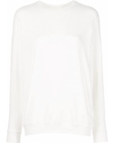 Biały sweter z printem Alo Yoga