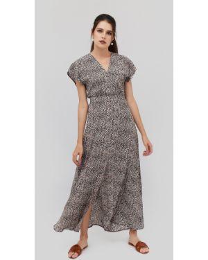 Приталенное летнее платье на молнии Cardo