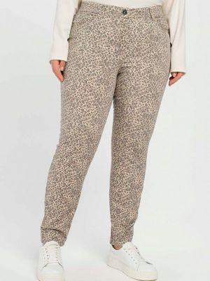 Бежевые зимние брюки Samoon By Gerry Weber