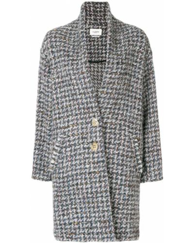 Длинное пальто на кнопках однобортное до колен Isabel Marant Étoile