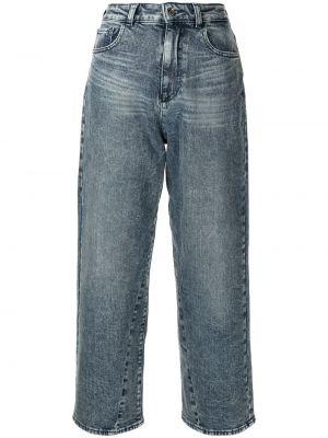 Прямые джинсы классические - синие Emporio Armani