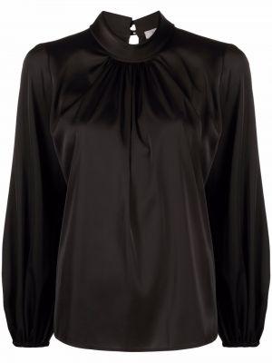 Блузка на пуговицах - черная D.exterior