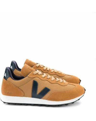 Pomarańczowe sneakersy Veja