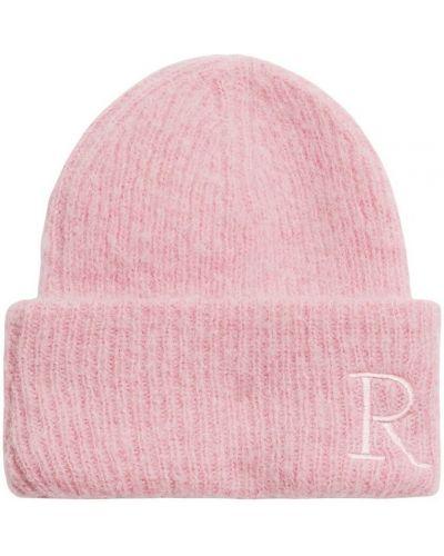 Różowa czapka Rodebjer