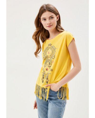Желтая футболка Springfield