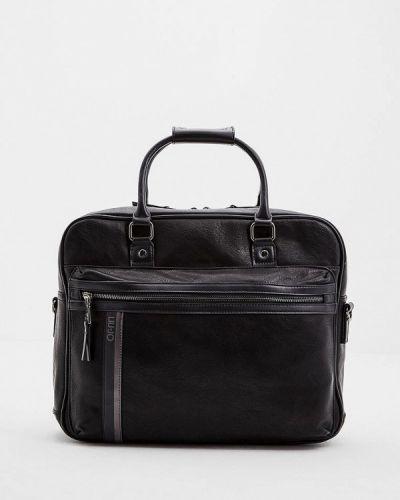 Черная кожаная сумка Liu Jo Uomo