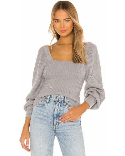 Акриловый свитер винтажный квадратный Line & Dot
