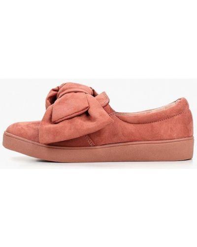 Слипоны красные оранжевый Max Shoes