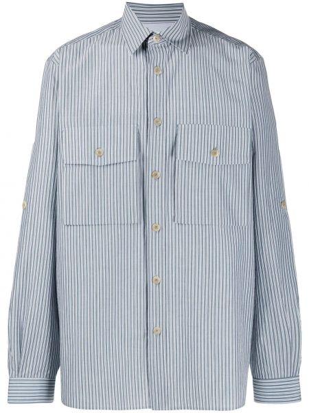 Koszula z długim rękawem w paski z paskami Paul Smith