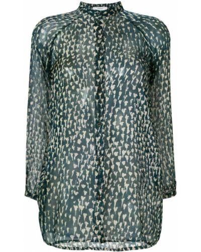 Блузка прозрачная на кнопках Humanoid