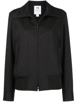Черная длинная куртка Y-3