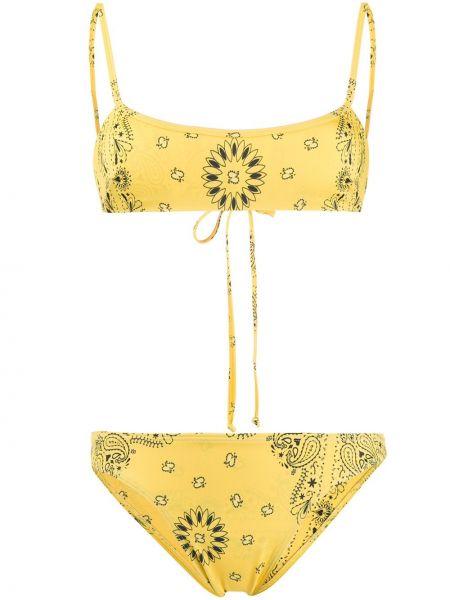 Желтый купальник эластичный Sian Swimwear