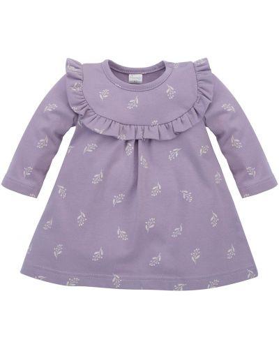 Tunika bawełniana - fioletowa Pinokio
