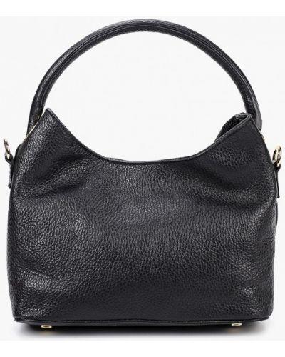 Черная сумка из натуральной кожи Lamania