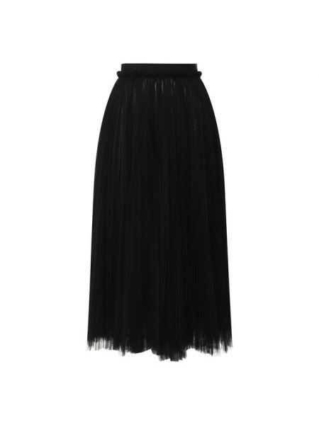 Юбка миди широкая с воланами Dolce & Gabbana