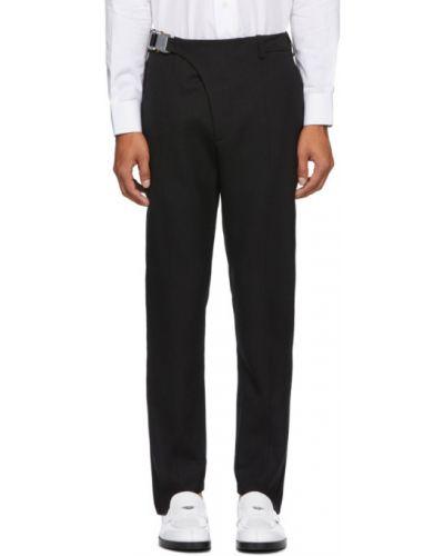 Шерстяной брючный черный брючный костюм 1017 Alyx 9sm