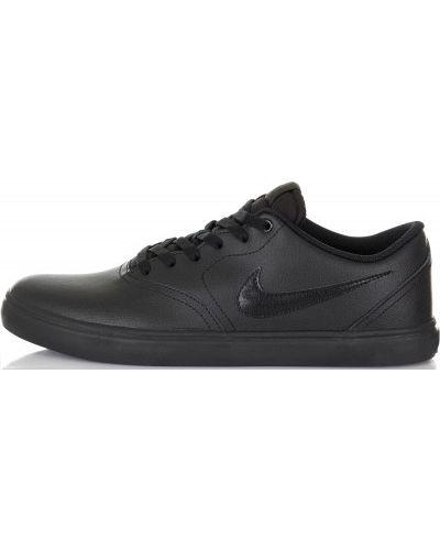 Черные кеды скейтбордические Nike