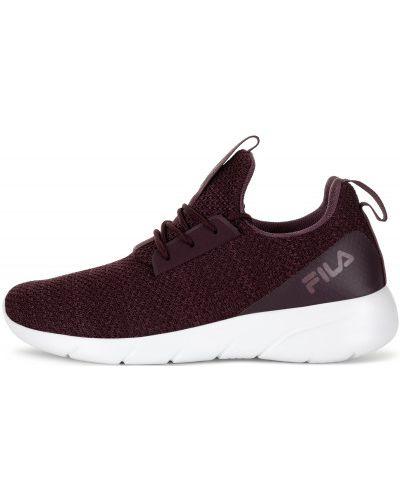 Фиолетовые кроссовки на шнуровке Fila