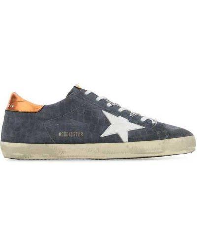 Sneakersy niskie - niebieskie Golden Goose