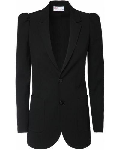 Пиджак шерстяной с накладными карманами Red Valentino