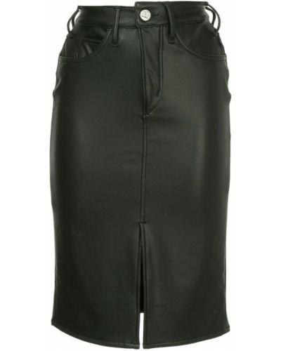 Джинсовая юбка миди - черная Mcguire Denim