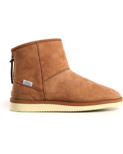 Ankle boots - brązowe Suicoke