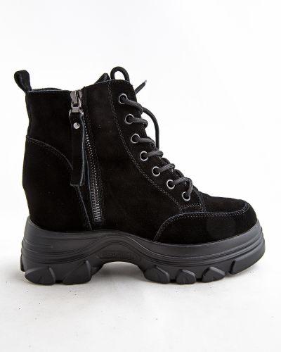 Черные зимние ботинки Prima D'arte