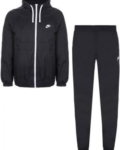 Спортивный костюм с капюшоном черный Nike