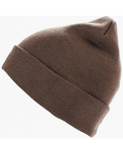 Коричневая шапка осенняя Coompol
