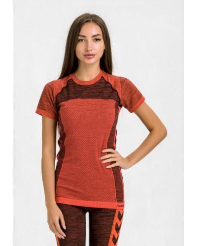Красная спортивная футболка Hummel