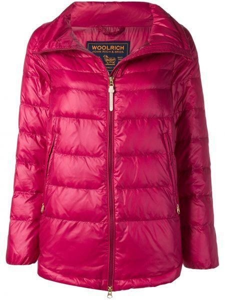 Куртка на молнии с карманами Woolrich