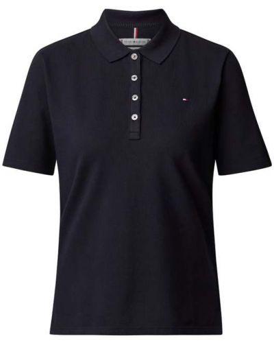 T-shirt bawełniana - niebieska Tommy Hilfiger