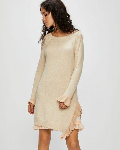 Платье мини прямое льняное Silvian Heach