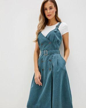 Платье осеннее платье-сарафан Gregory