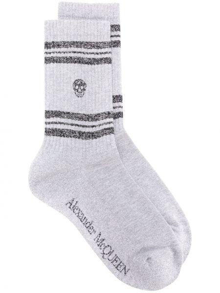 Вязаные спортивные носки Alexander Mcqueen