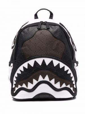 Кожаная сумка - черный Sprayground